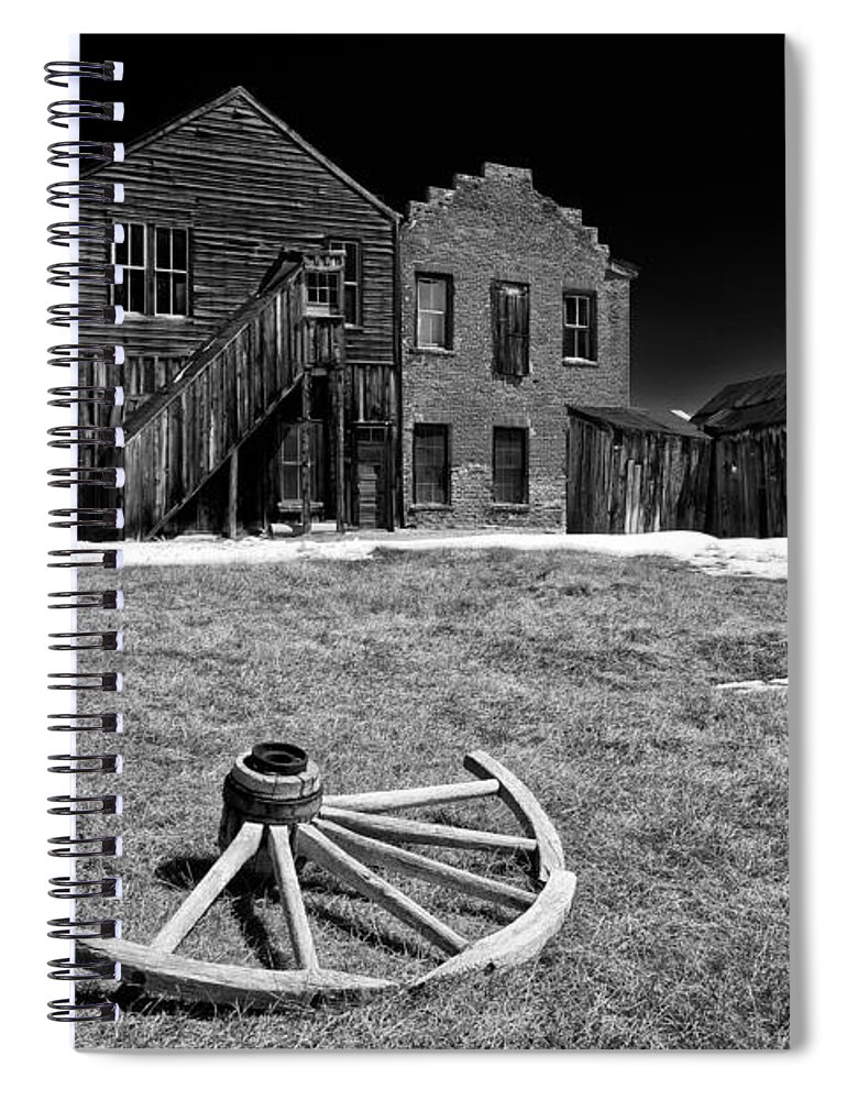 Bodie Spiral Notebook featuring the photograph Bodie by Cat Connor