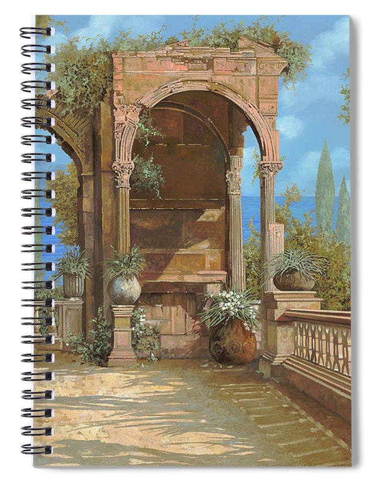 La Terrazza Sul Lago Spiral Notebook
