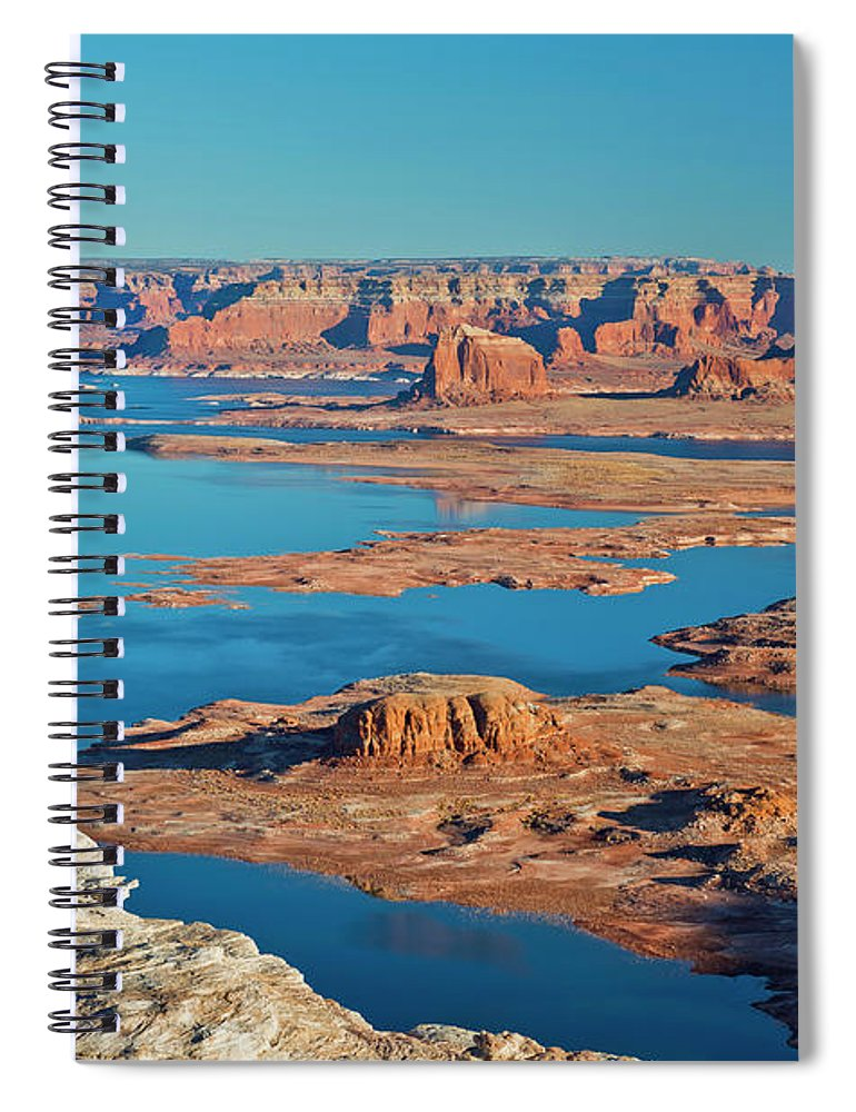Tranquility Spiral Notebook featuring the photograph Lake Powell by Chen Su