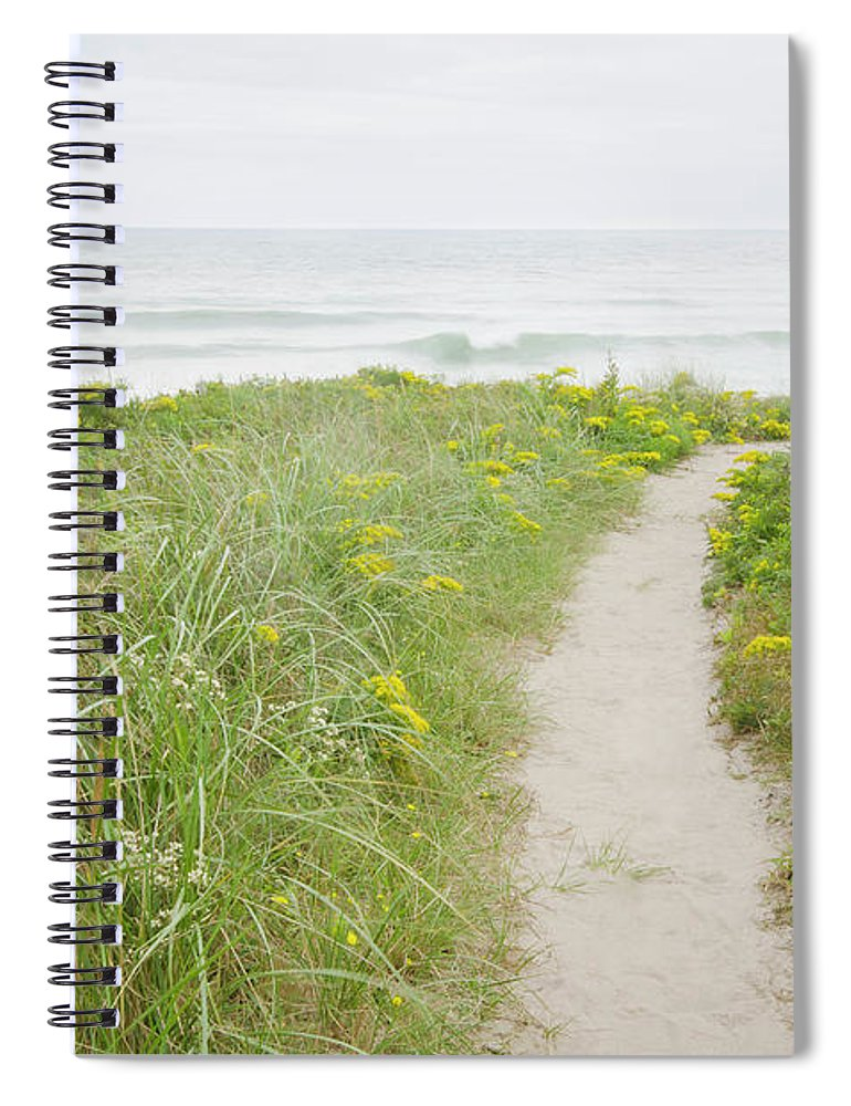 Tranquility Spiral Notebook featuring the photograph Usa, Massachusetts, Nantucket Island by Chuck Plante