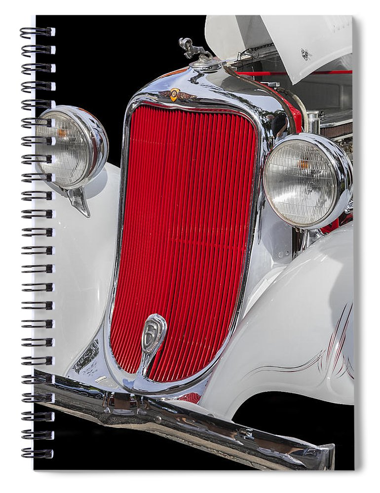 Dodge Spiral Notebook featuring the photograph 1933 Dodge Sedan by Rich Franco