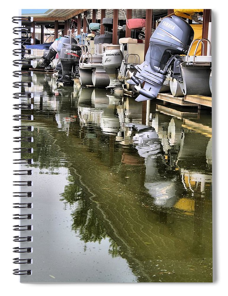 Boating Spiral Notebook featuring the photograph Boating by Dan Sproul