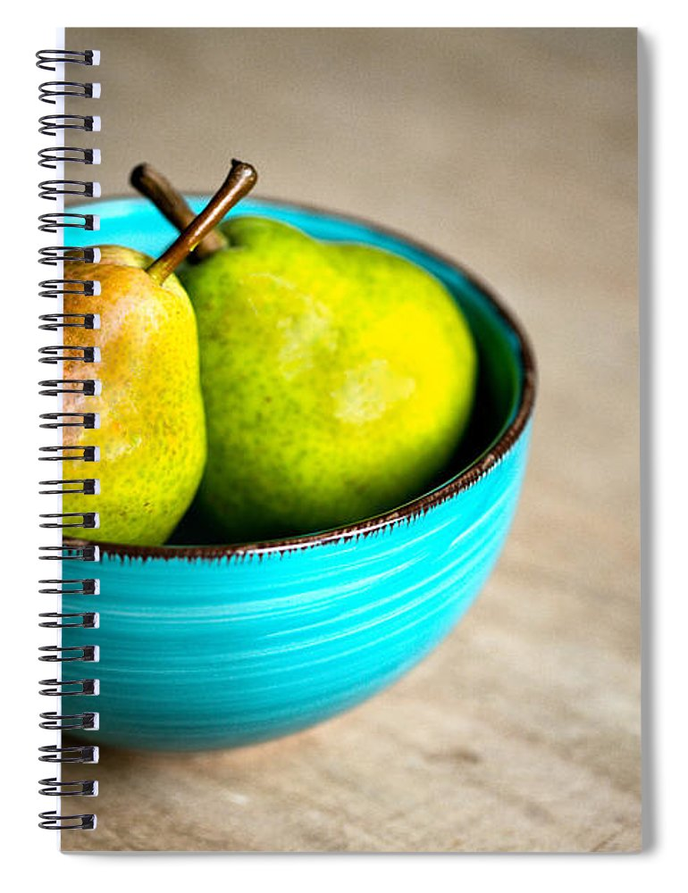 Pear Spiral Notebook featuring the photograph Pears by Nailia Schwarz