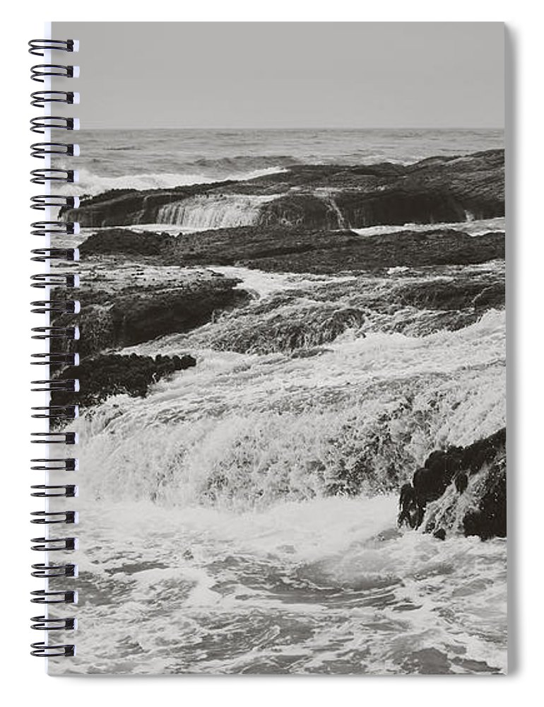 Stornetta Public Lands Spiral Notebook featuring the photograph After The Crash by Laurie Search