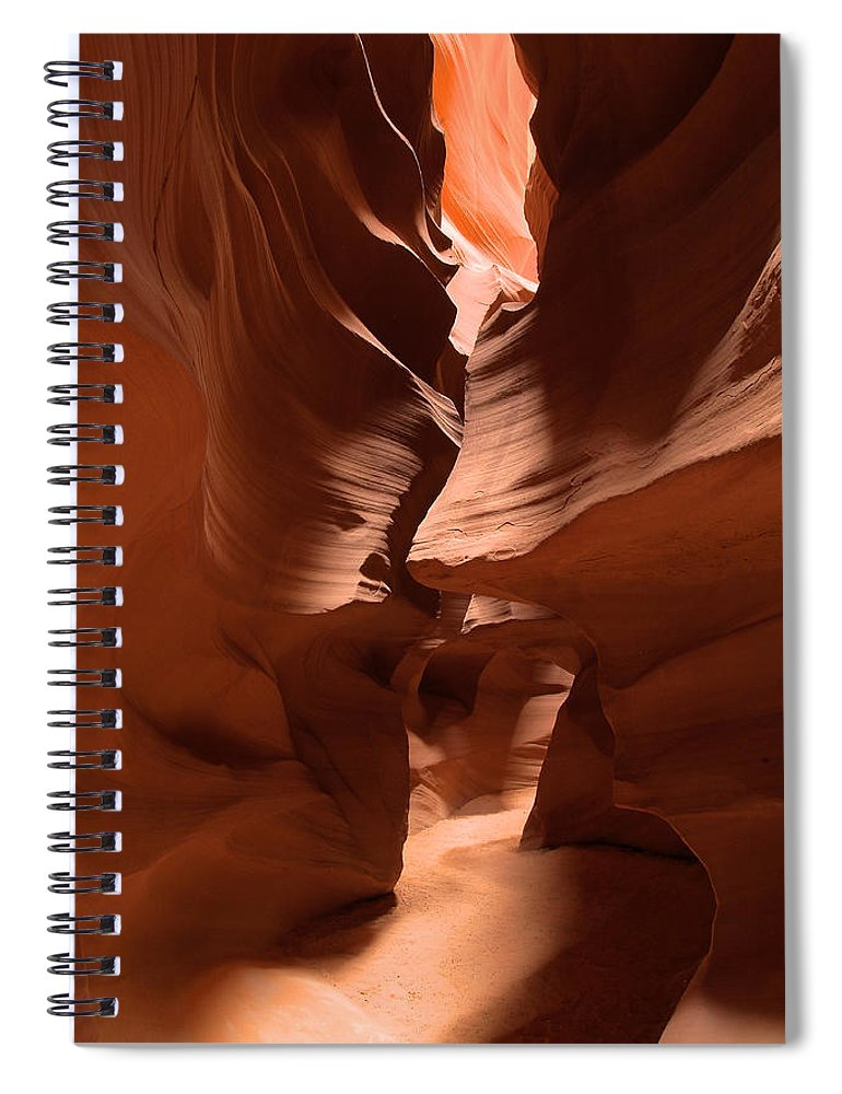 Antelope Canyon Spiral Notebook featuring the photograph Antelope Canyon 11 by Richard J Cassato