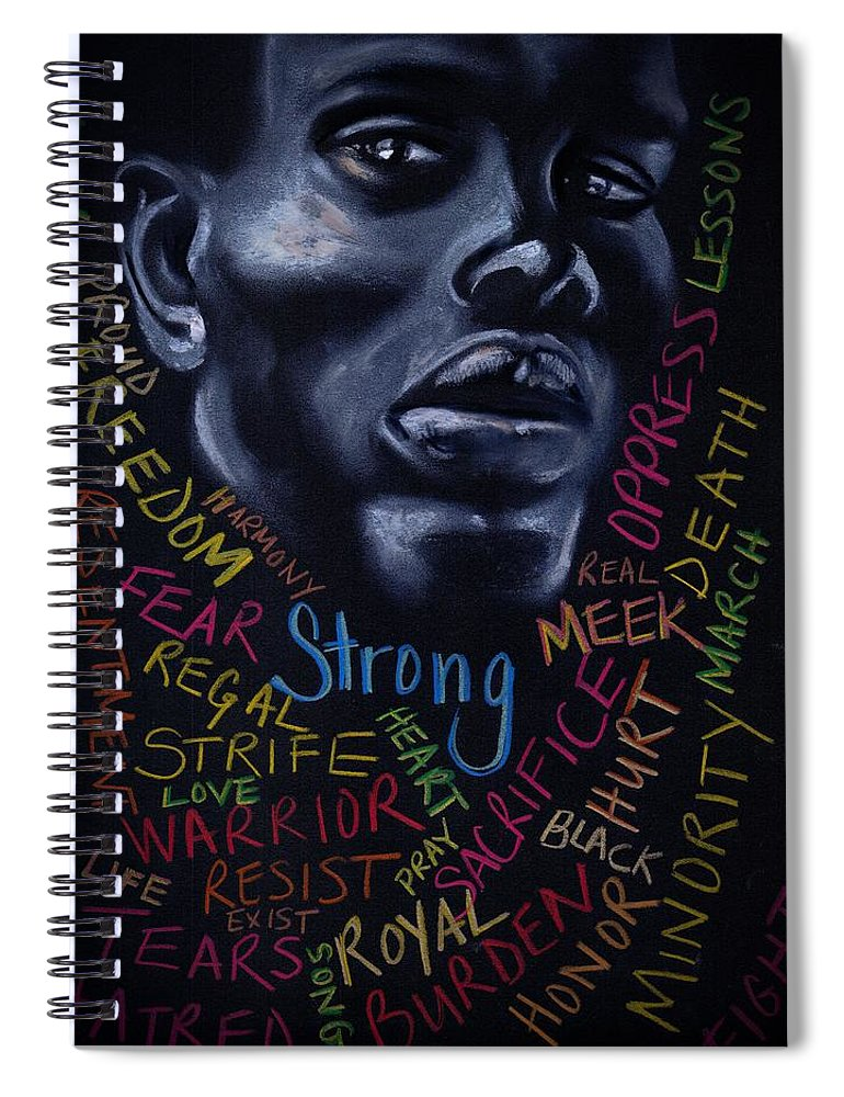 Beautiful Spiral Notebook featuring the photograph Appreciate Your Past- Look to the Future by Artist RiA
