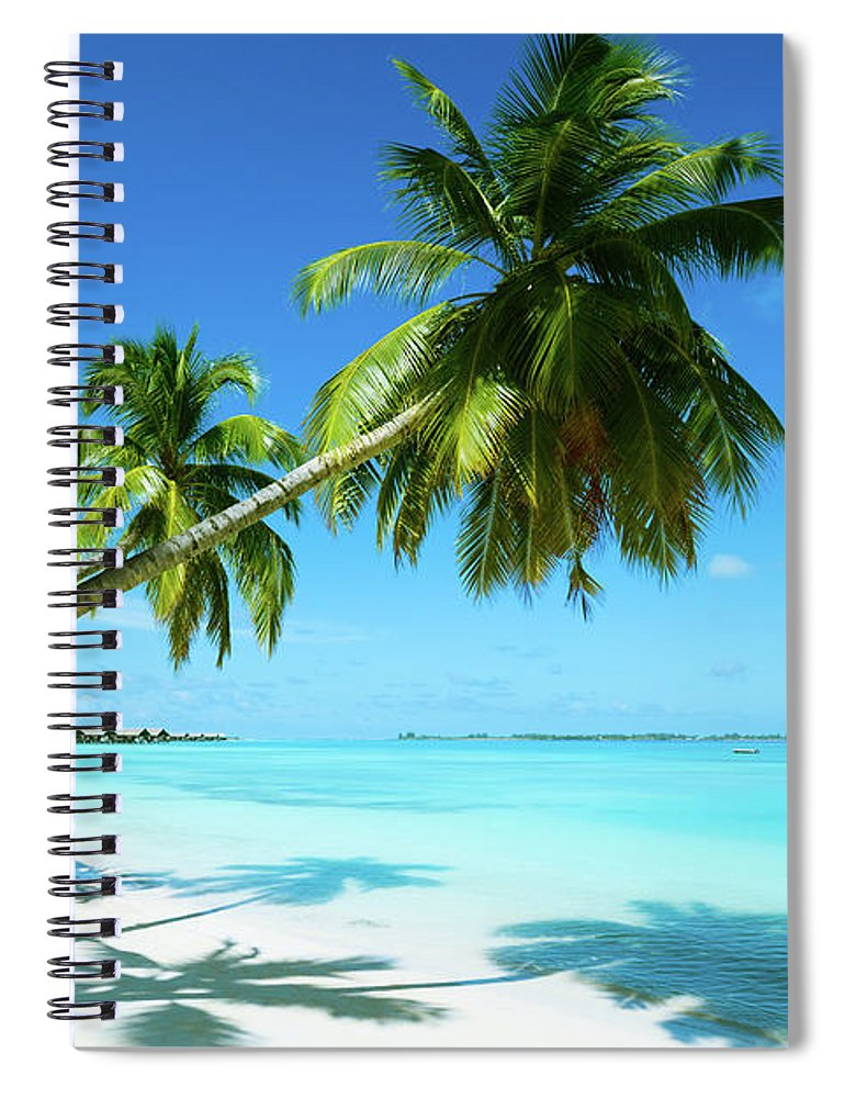 Water's Edge Spiral Notebook featuring the photograph Beautiful Beach Resort by Phototalk