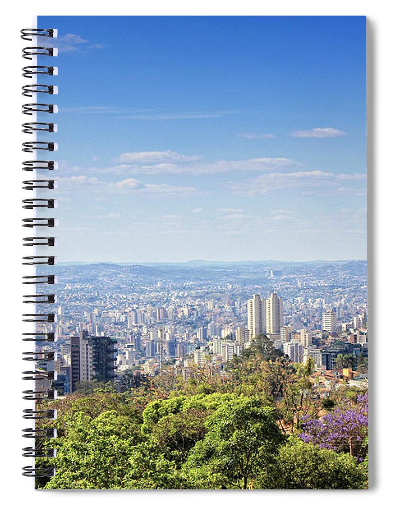 Tranquility Spiral Notebook featuring the photograph Belo Horizonte by Antonello
