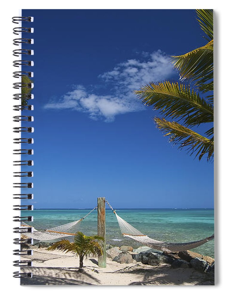 3scape Spiral Notebook featuring the photograph Breezy Island Life by Adam Romanowicz