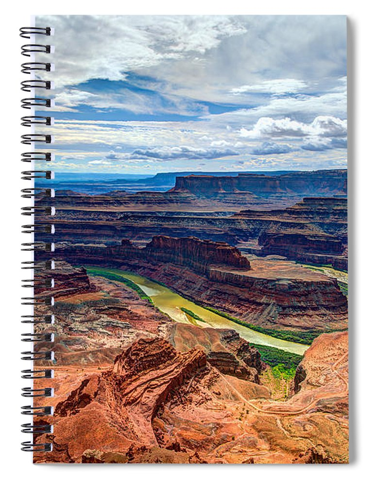 American Spiral Notebook featuring the photograph Canyon Country by Chad Dutson