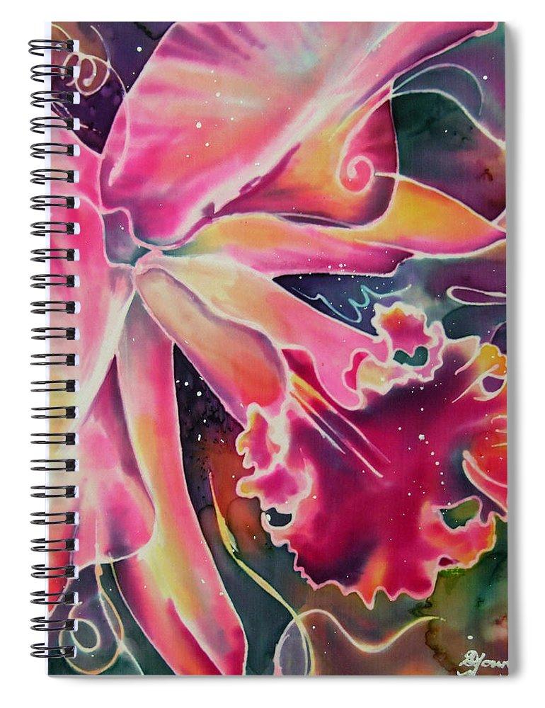Cattleya Iii Spiral Notebook