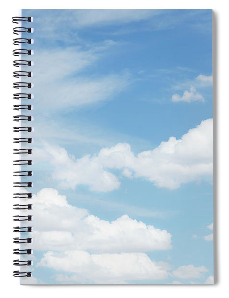 Scenics Spiral Notebook featuring the photograph Cloudscape, California by Nine Ok
