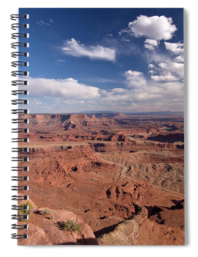 Scenics Spiral Notebook featuring the photograph Colorado River Canyon From Dead Horse by John Elk