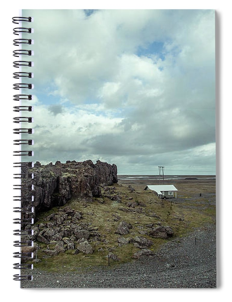 Tranquility Spiral Notebook featuring the photograph Countryside by Oscar Wong