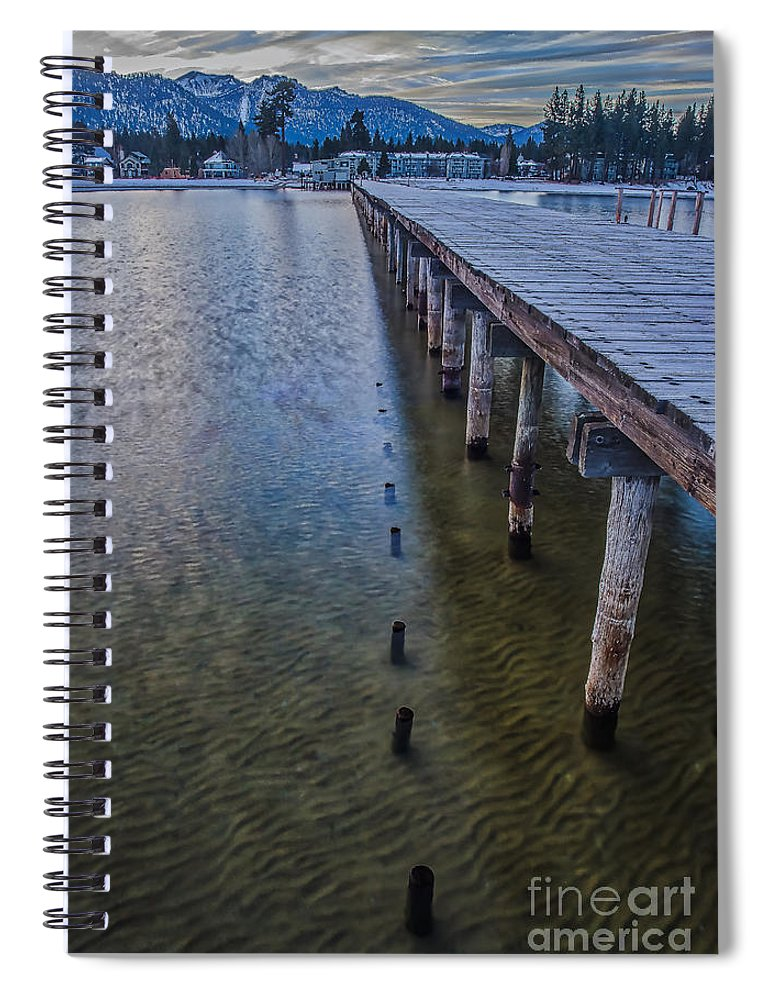 Cut Off Spiral Notebook featuring the photograph Cut Off by Mitch Shindelbower