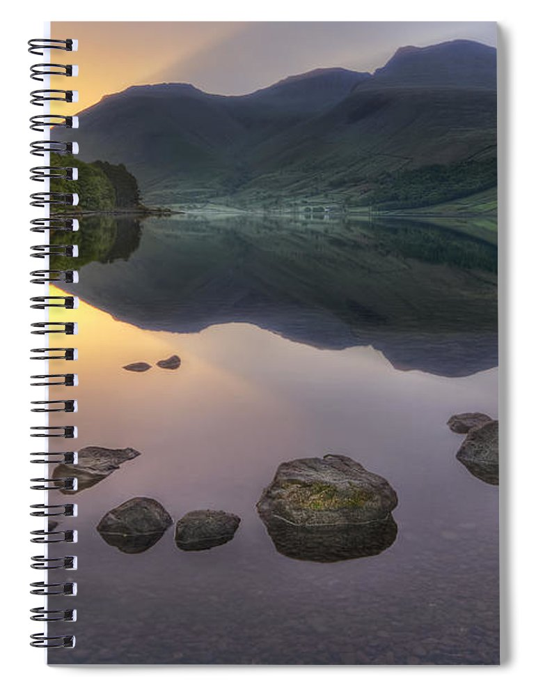 Wasdale Spiral Notebook featuring the photograph Dawn Of A New Day by Evelina Kremsdorf