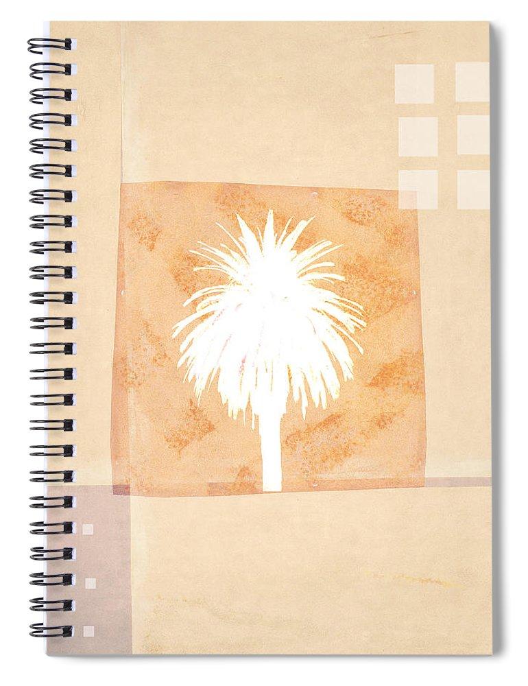 Desert Spiral Notebook featuring the photograph Desert Windows by Carol Leigh