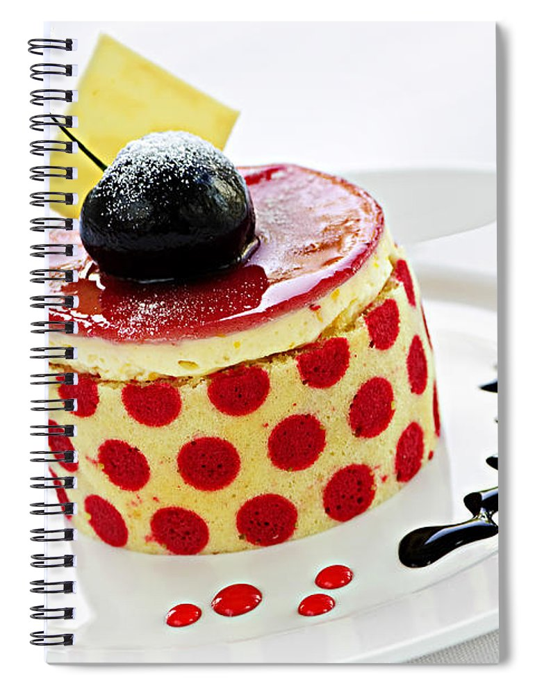 Dessert Spiral Notebook featuring the photograph Dessert by Elena Elisseeva