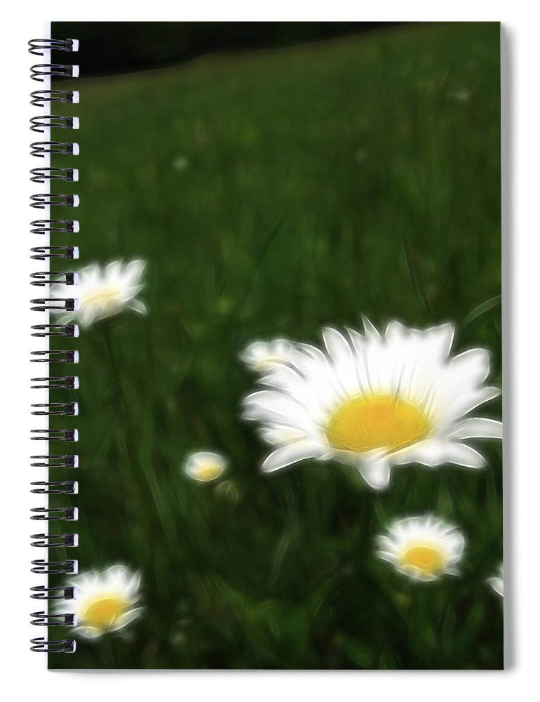 Flowers Spiral Notebook featuring the photograph Dreamy Gardens 10 by Rhonda Barrett