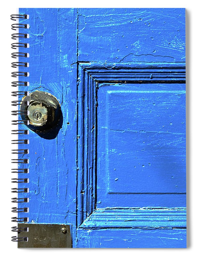 City Spiral Notebook featuring the photograph Entrance To Babylon by Bob Orsillo