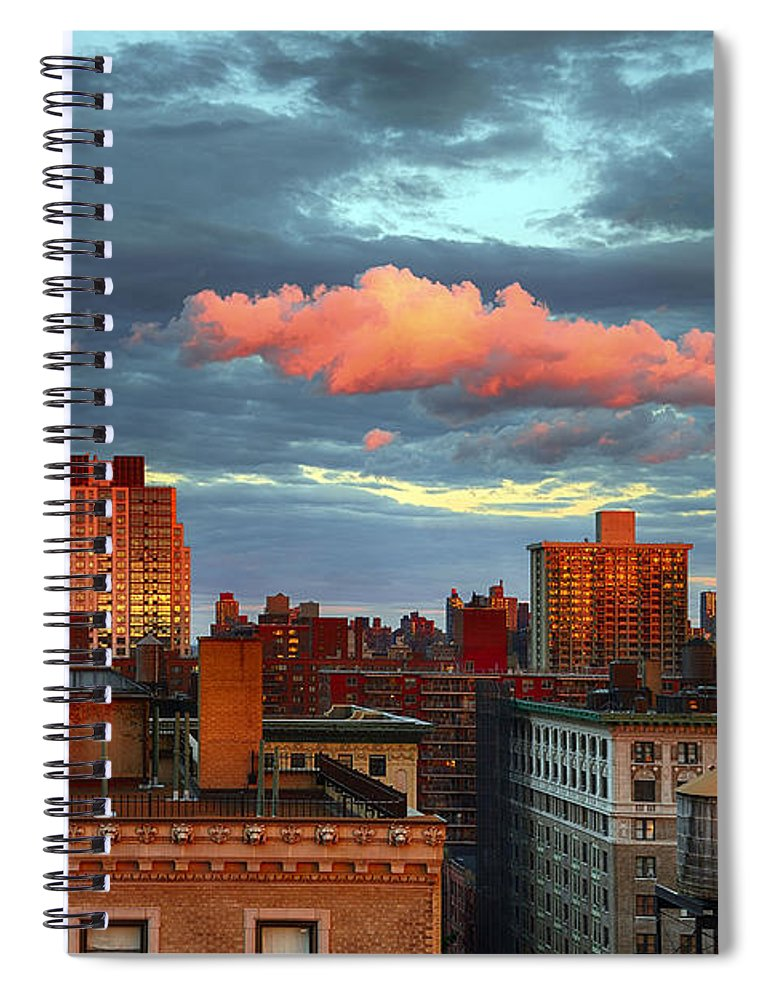 Tranquility Spiral Notebook featuring the photograph Facing East by Joe Josephs Photography