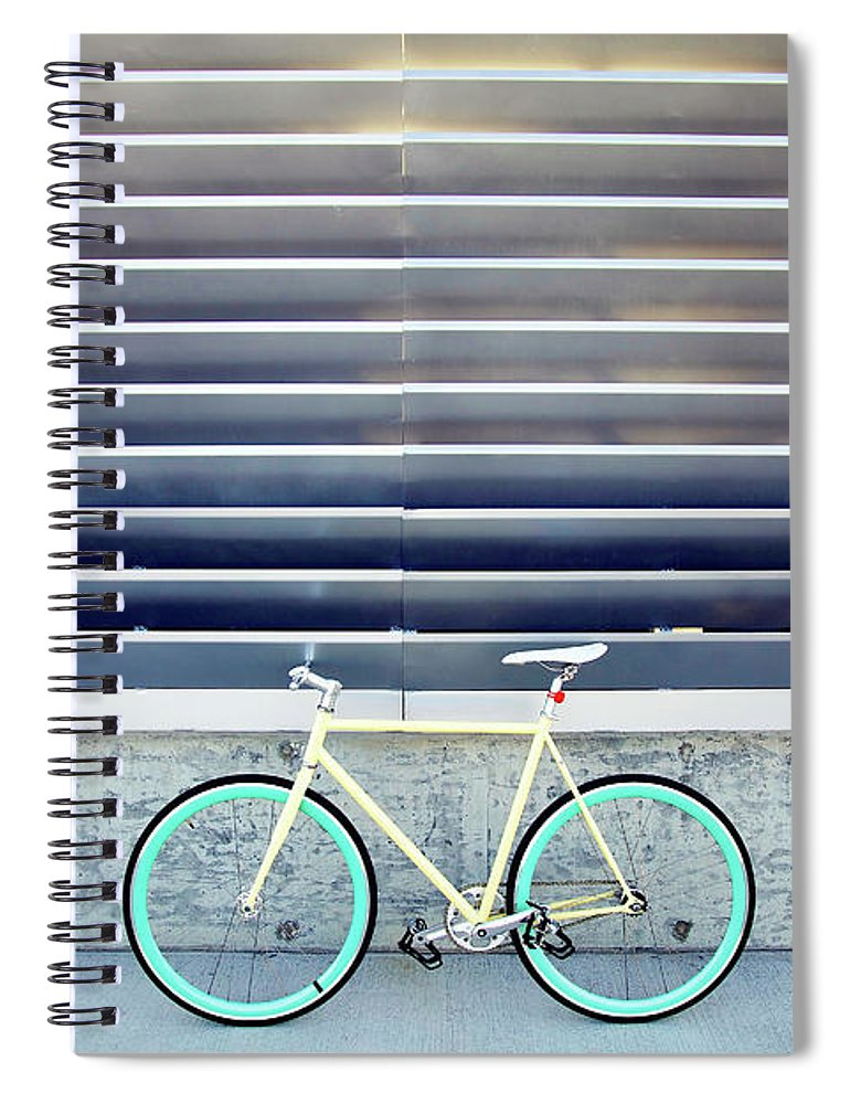 Tranquility Spiral Notebook featuring the photograph Fixie by I Love Taking Photo