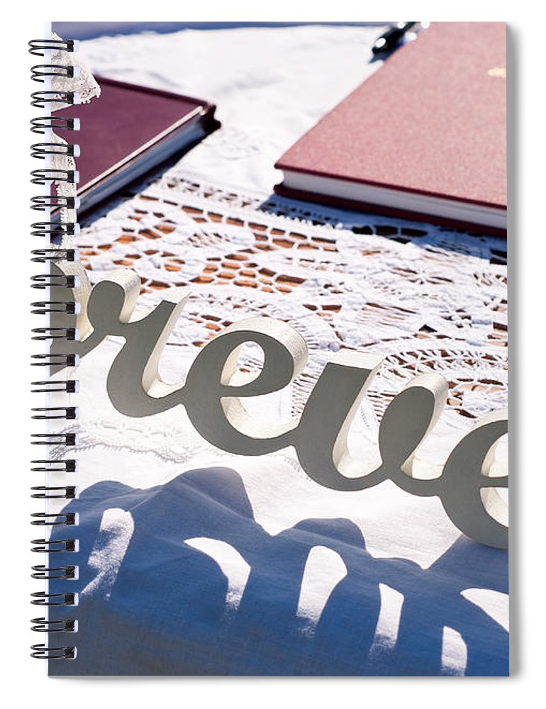 Forever Spiral Notebook featuring the photograph Forever by Rick Piper Photography