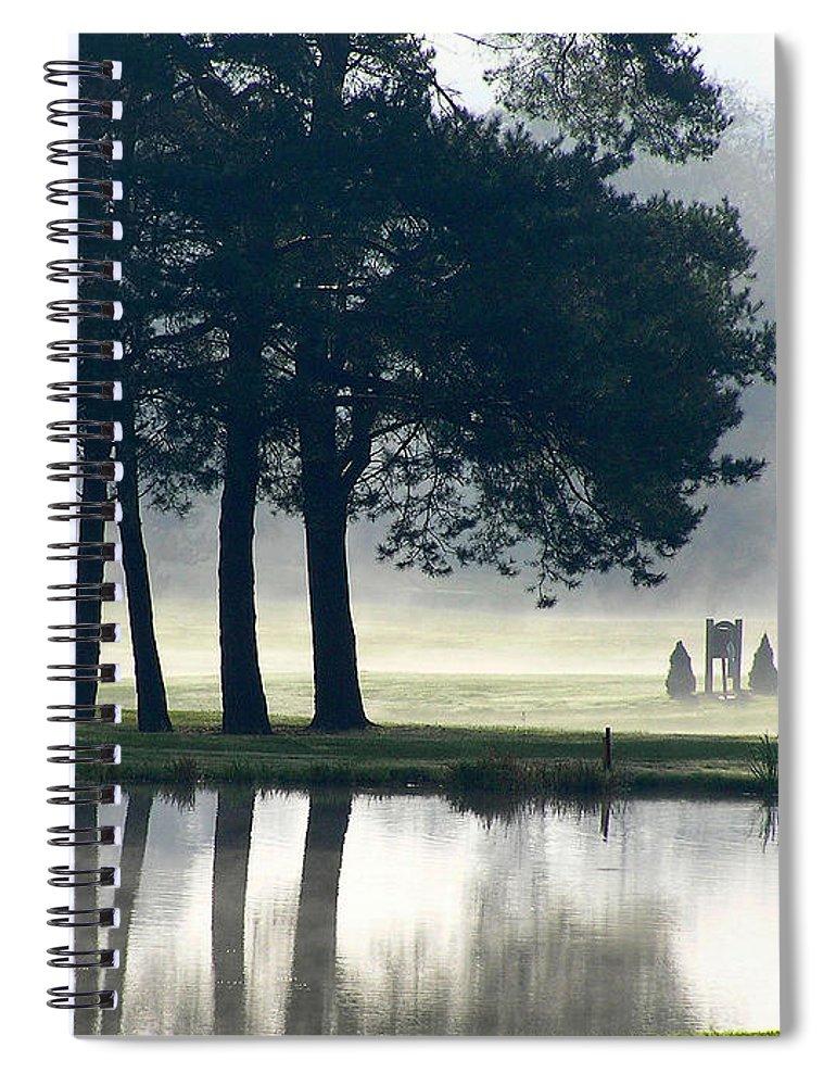 Genegantslet Spiral Notebook featuring the photograph Genegantslet Golf Club by Christina Rollo