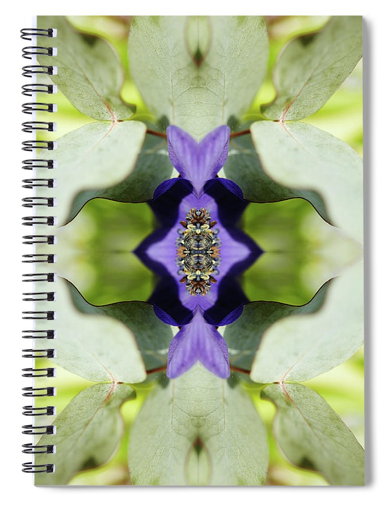 Tranquility Spiral Notebook featuring the photograph Gerbera Flower by Silvia Otte