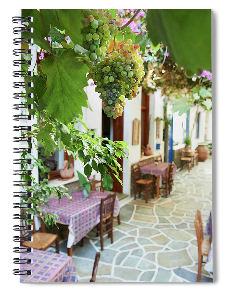 Tranquility Spiral Notebook featuring the photograph Greece, Cyclades Islands, Kythnos by Tuul & Bruno Morandi