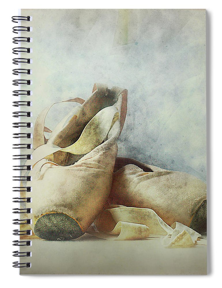 Netherlands Spiral Notebook featuring the photograph Her Life, Her World....her Shoes by Bob Van Den Berg Photography