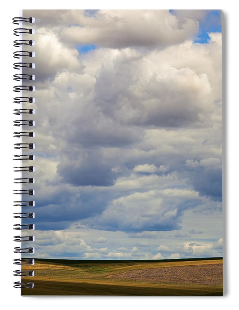 Barn Spiral Notebook featuring the photograph Insignificant by Mike Dawson