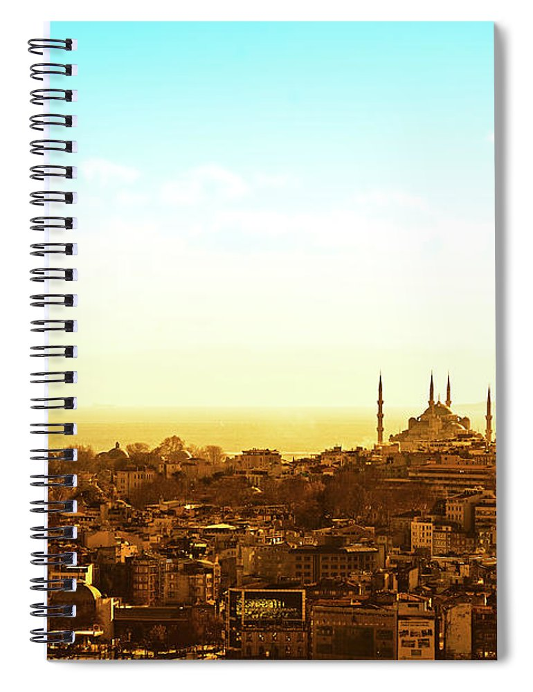 Tranquility Spiral Notebook featuring the photograph Istanbul by Dhmig Photography