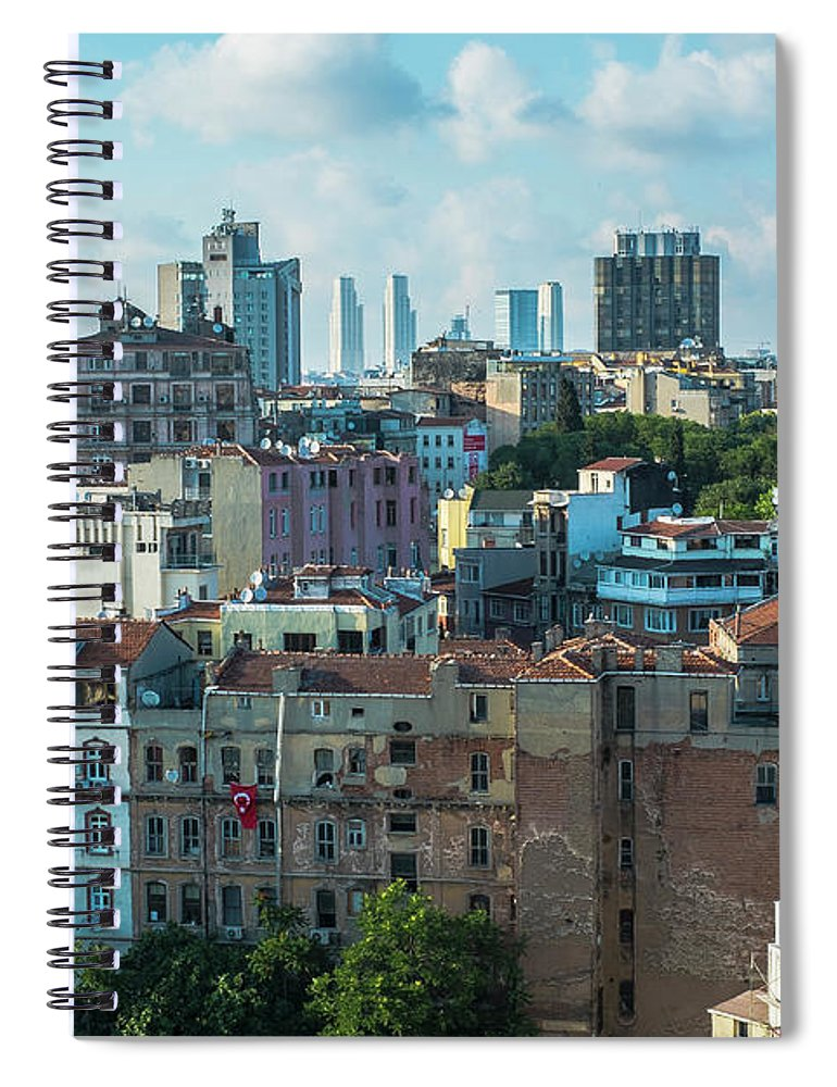 Tranquility Spiral Notebook featuring the photograph Istanbul by Picture By Hamoon Nasiri