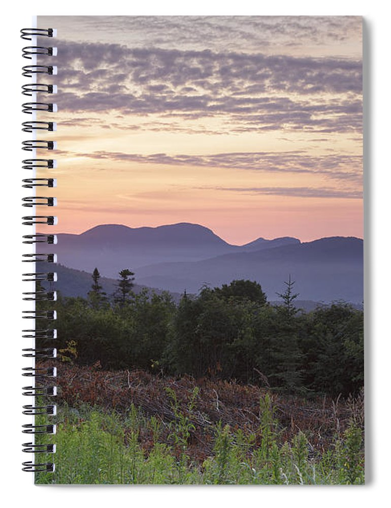 C.l. Graham Wangan Grounds Spiral Notebook featuring the photograph Kancamagus Highway - White Mountains New Hampshire USA by Erin Paul Donovan