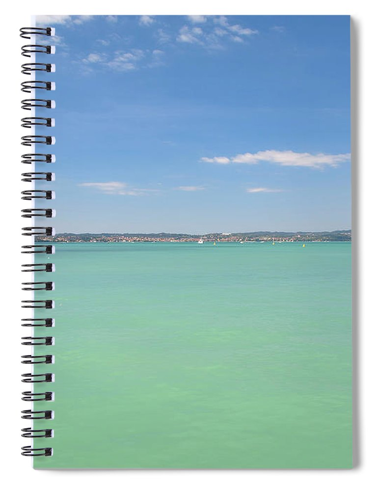 Scenics Spiral Notebook featuring the photograph Lago Di Garda by Goranstimac