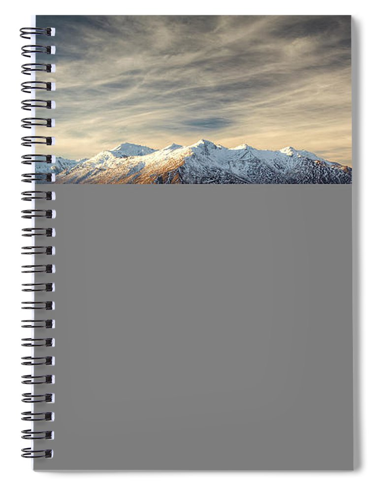 Tranquility Spiral Notebook featuring the photograph Landscape Of Wanaka by Joao Inacio
