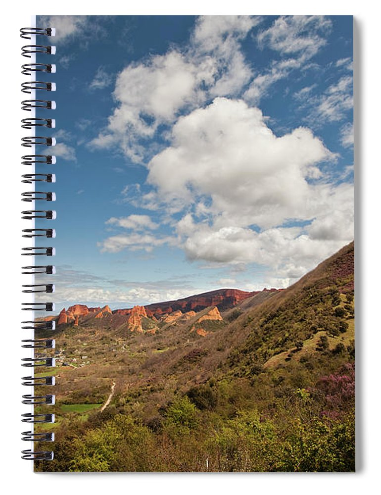 Tranquility Spiral Notebook featuring the photograph Las Medulas by Pura Vida