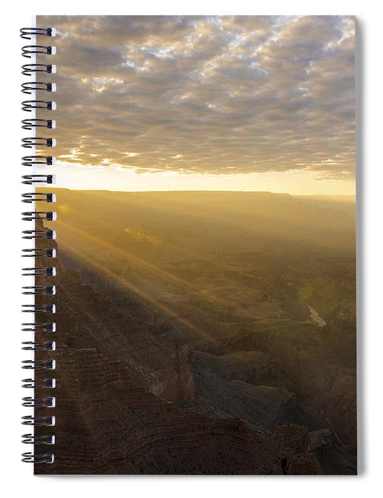 Lipon Point Sunset Grand Canyon National Park Arizona Az Spiral Notebook featuring the photograph Lipon Point Sunset 2 - Grand Canyon National Park - Arizona by Brian Harig