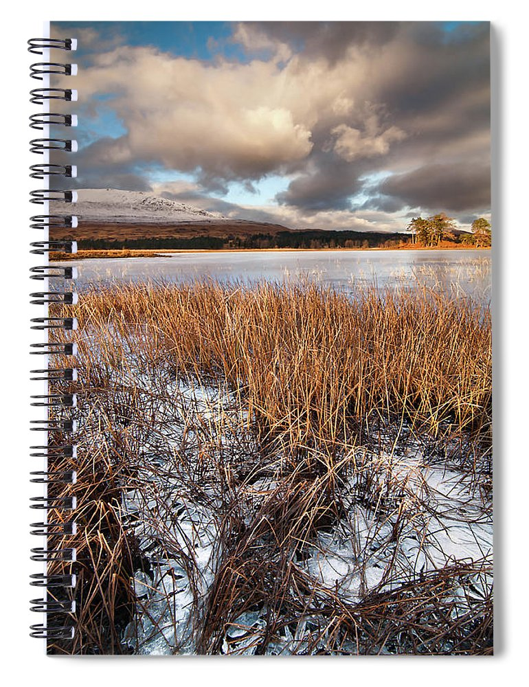 Tranquility Spiral Notebook featuring the photograph Loch Tulla by Image By Peter Ribbeck