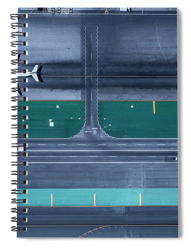 California Spiral Notebook featuring the photograph Los Angeles International Airportlax by Michael H