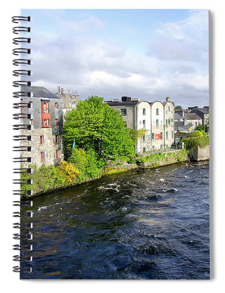 Tranquility Spiral Notebook featuring the photograph Lough Corrib Galway City Ireland by M Timothy O'keefe