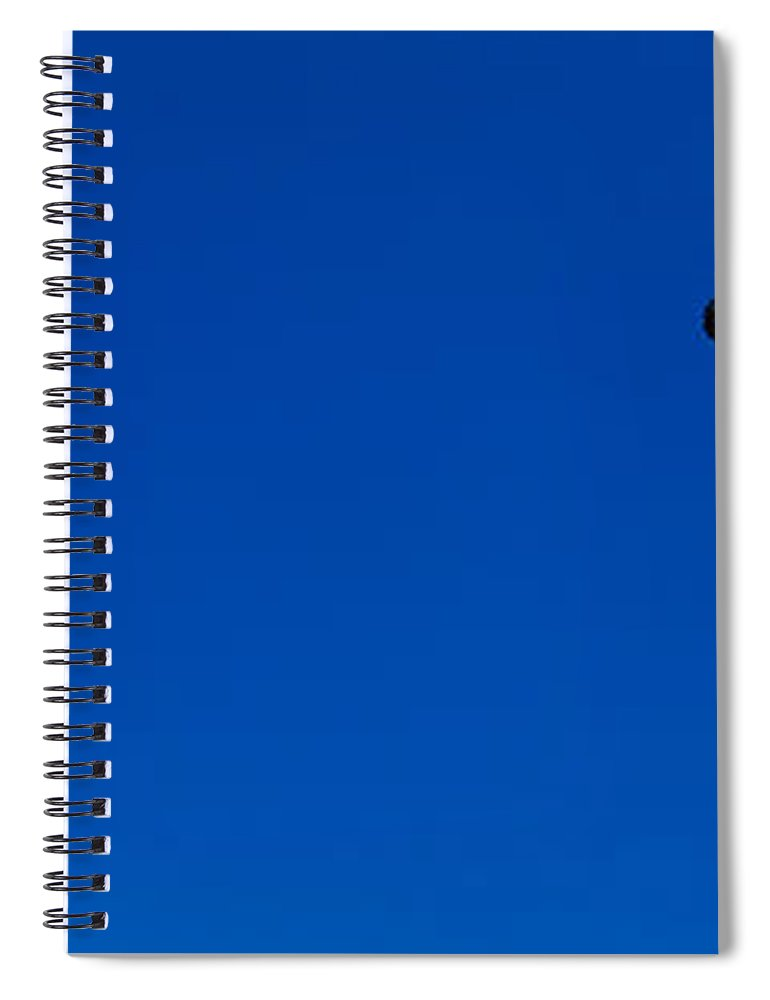 Photography Spiral Notebook featuring the photograph Low Angle View Of Statue Of Liberty by Panoramic Images