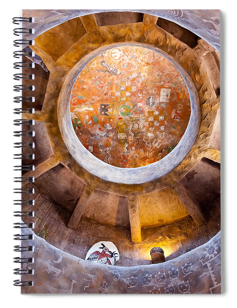 Navajo Watchtower Spiral Notebook featuring the photograph Navajo Watchtower by Dave Bowman