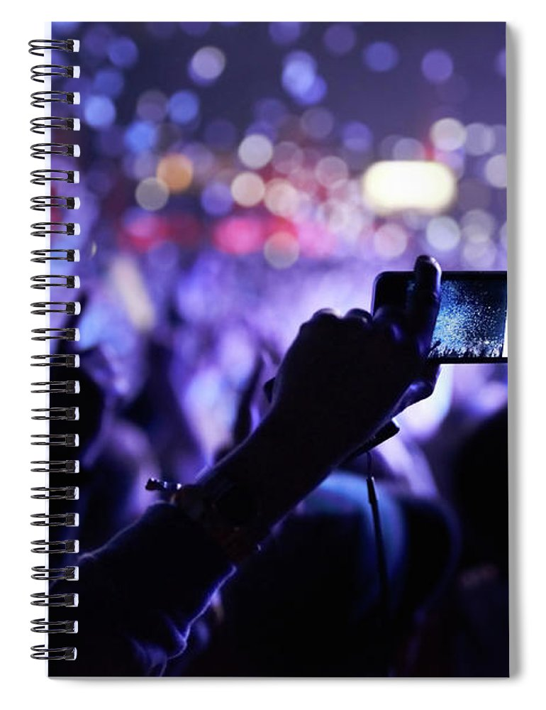 Event Spiral Notebook featuring the photograph Never Forget This Moment by Peopleimages