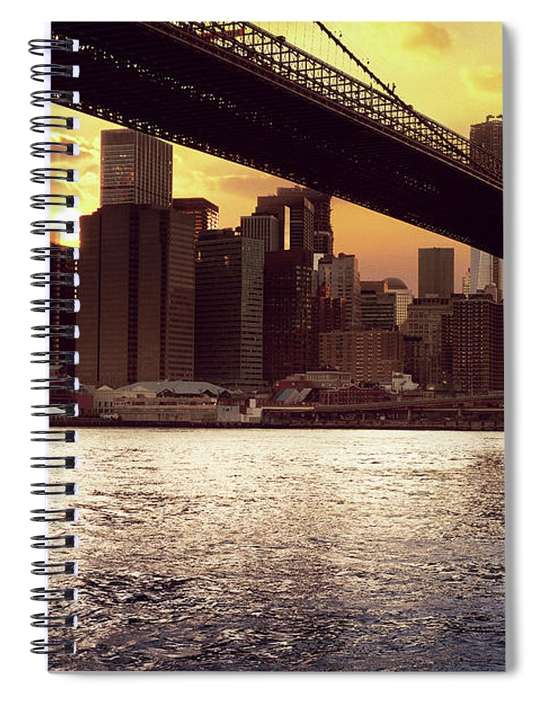 Tranquility Spiral Notebook featuring the photograph New Beginnings by Aleks Ivic Visuals