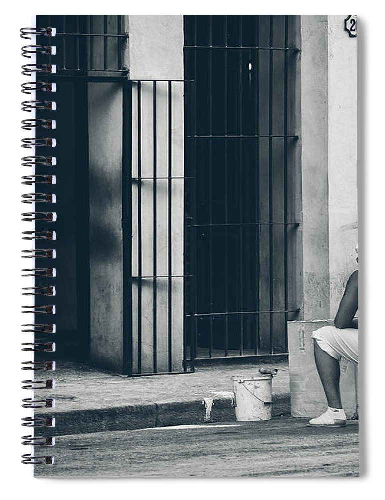 Havana Spiral Notebook featuring the photograph Nice And Slow.. by A Rey