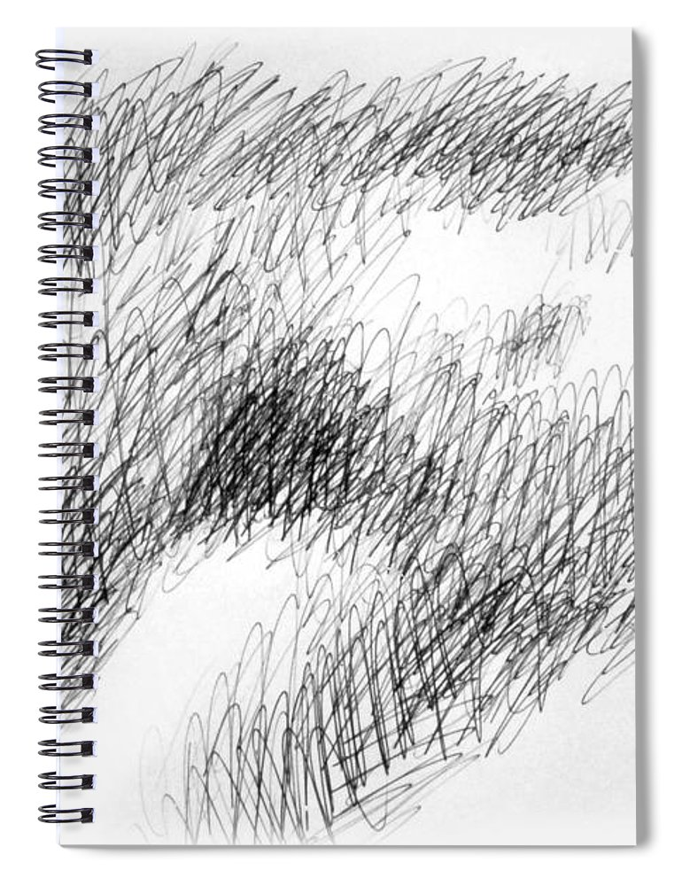 sketches spiral notebook featuring the drawing nude female abstract drawings 1 by gordon punt