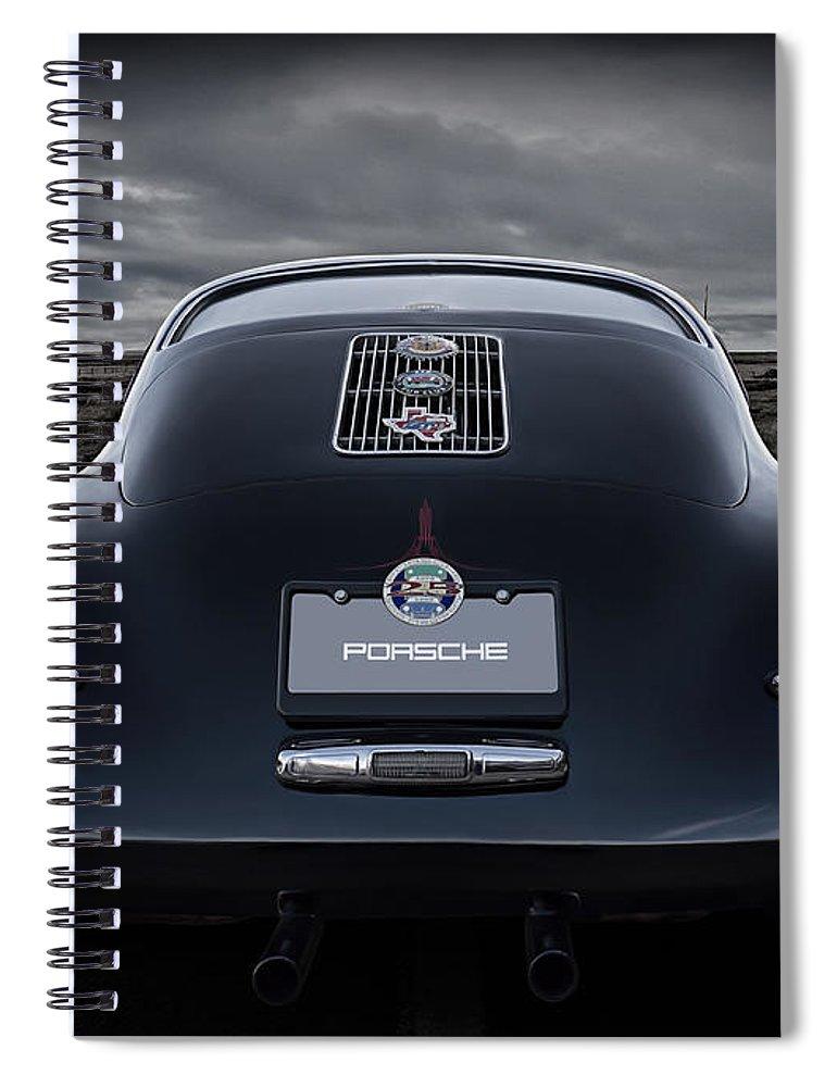 Classic Spiral Notebook featuring the digital art Open Road by Douglas Pittman