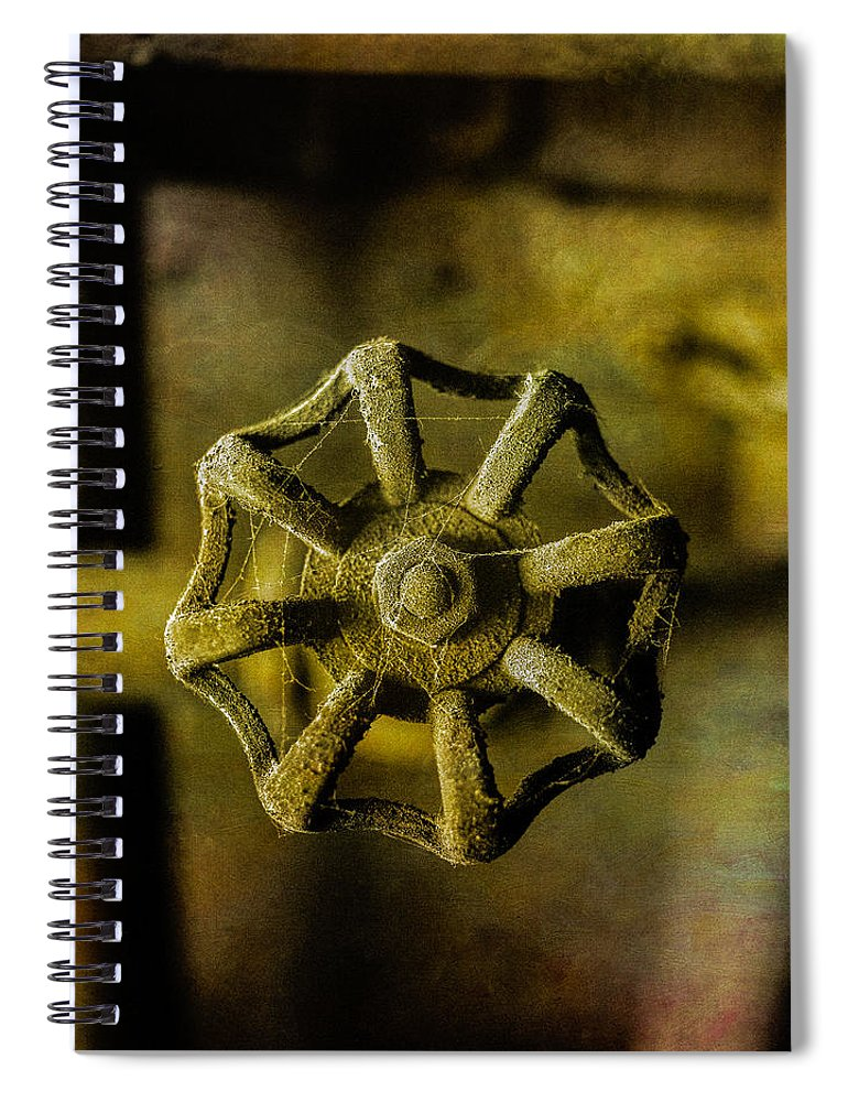 Abandoned Spiral Notebook featuring the photograph Pacific Airmotive Corp 22 by YoPedro